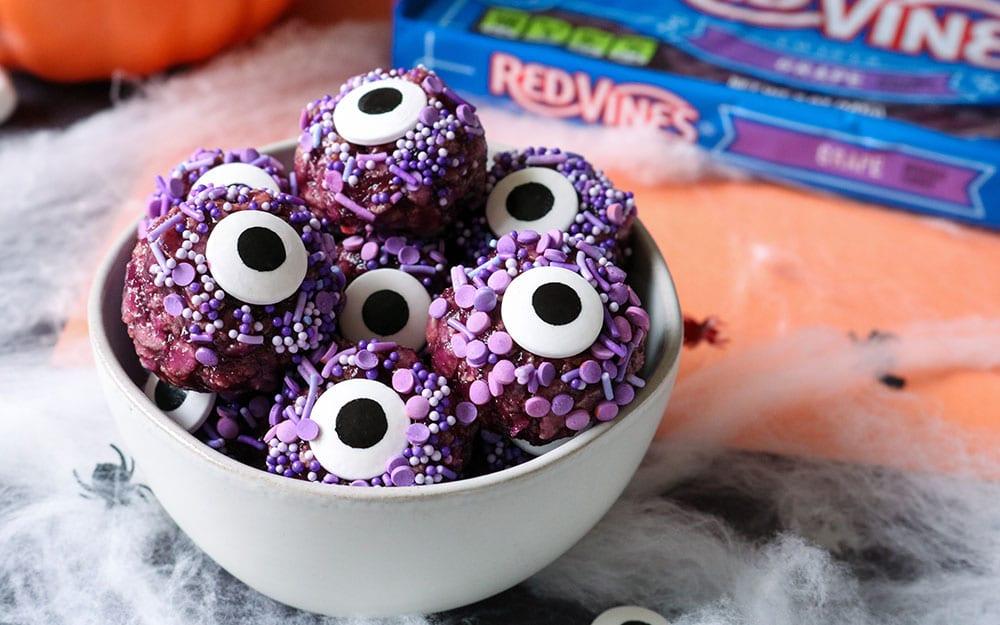 Purple Monster Eyeballs
