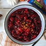 Red Licorice Cranberry Sauce