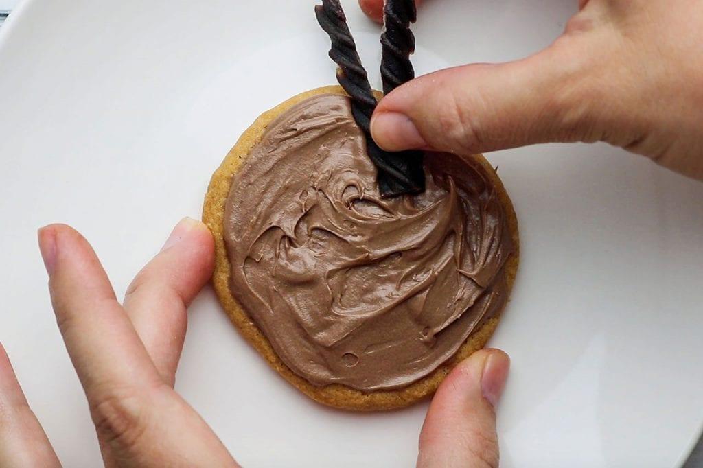 Rudolph Cookies in progress 3