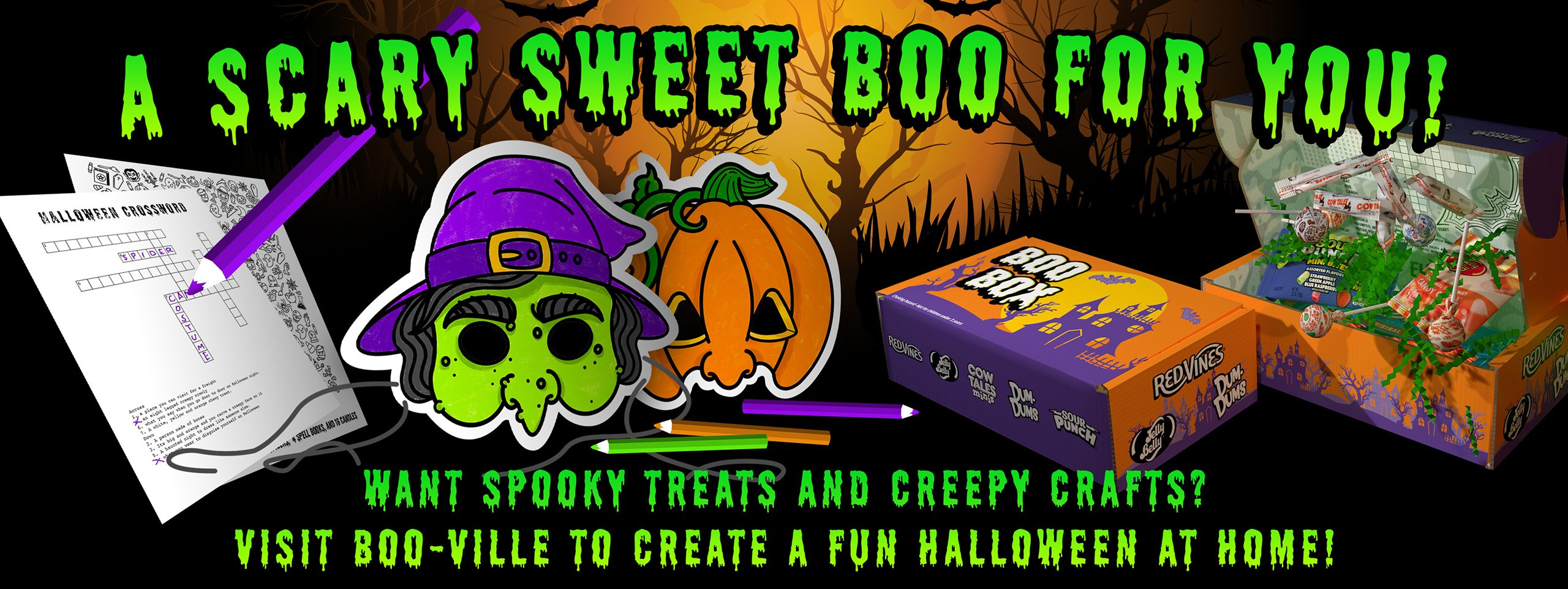 A Scary Sweet Boo For You!